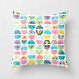 Slice of Happy Throw Pillow