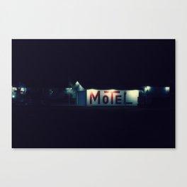 Sweet Dreams Motel Canvas Print
