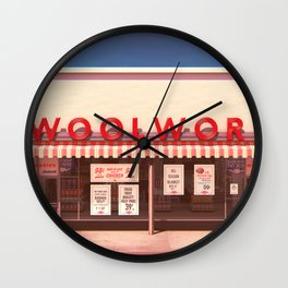 F.W. Woolworth Wall Clock