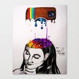 Brain Succ Canvas Print