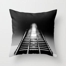 Bass Tracks Throw Pillow