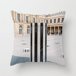 Palais Royal III Throw Pillow
