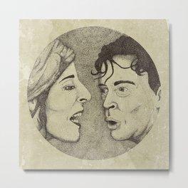 Margaretha & Ernst-Hugo Metal Print