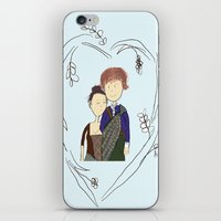 outlander iPhone & iPod Skins featuring Outlander by Sarcastic Savage