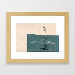 Really Great Bittern Framed Art Print