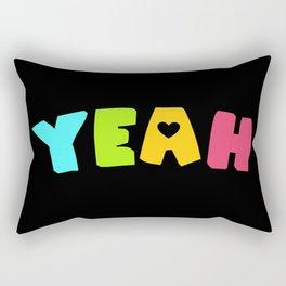 Yeah (Panromantic) Rectangular Pillow