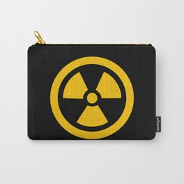 Yellow Radioactive Carry-All Pouch