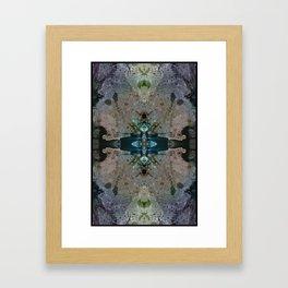 Brooklyn, New York City - Augmented Topography Giclée Print Framed Art Print
