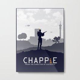 Chappie Metal Print