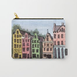 Amsterdam Street Scene Carry-All Pouch