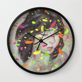 Colours Wall Clock