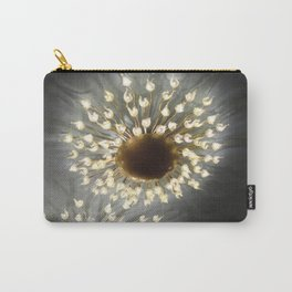 Tiny Flowers Carry-All Pouch
