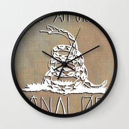 Gnalog (Analog Zine) Wall Clock