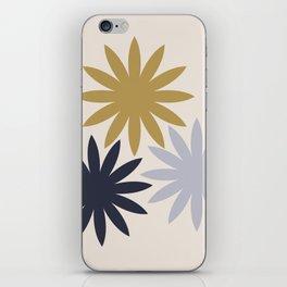 Three Flowers iPhone Skin