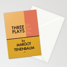 Three Plays By Margot Tenenbaum Stationery Cards