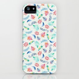 Aloha – Hawaii inspired pattern with a vintage feel iPhone Case
