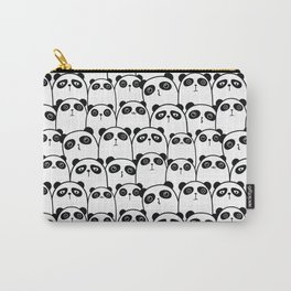Pristine Panda Party Pattern Carry-All Pouch