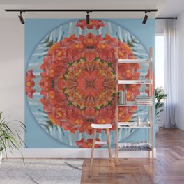 Mandala to Achieve Freedom Wall Mural