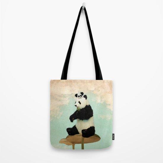 Wild Mushroom Panda Party Tote Bag