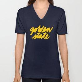 Golden State Unisex V-Neck