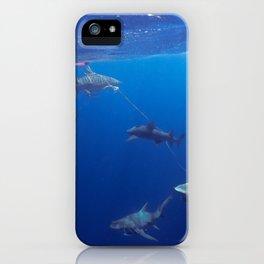 Shark Squad iPhone Case