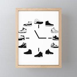 Time to AJ Framed Mini Art Print
