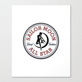 Sailor Moon All Star Canvas Print