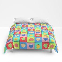 Heart Shaker Pattern Comforters