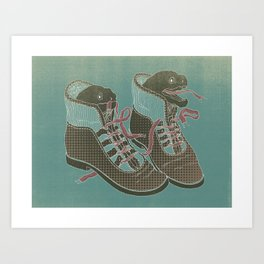 Moray Heels Art Print