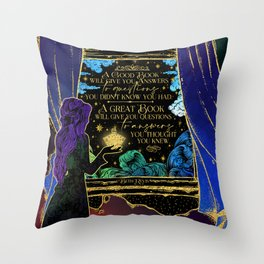 Give the Dark my Love Throw Pillow