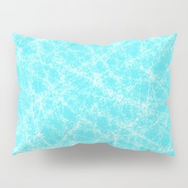 Robin Egg Blue Pattern Pillow Sham