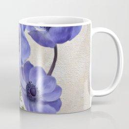 Pretty Periwinkle Poppies Coffee Mug