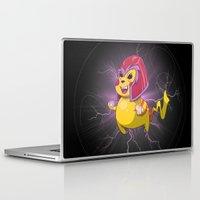 magneto Laptop & iPad Skins featuring Electro Magneto by Arthur Porto