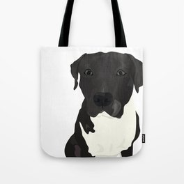 Atticus the Pit Bull Tote Bag
