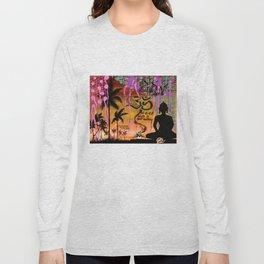 """ZAZEN"" Long Sleeve T-shirt"