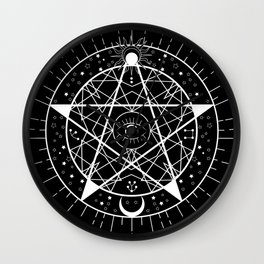 I PUT A SPELL ON YOU Wall Clock