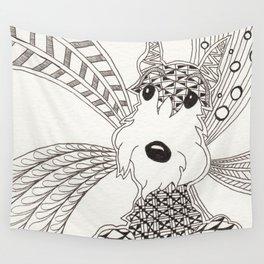 Schnauzer Wall Tapestry