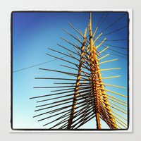 coachella Canvas Prints featuring Coachella by Wolf Feather