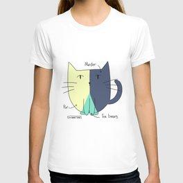 Cat Pie Chart T-shirt
