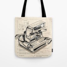 Polaroid Instant Camera Tote Bag