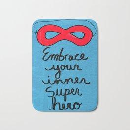 Embrace Your Inner Super Hero Bath Mat
