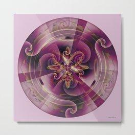 Mandalas of Healing and Awakening 11 Metal Print