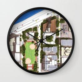 Mag Mile Wall Clock