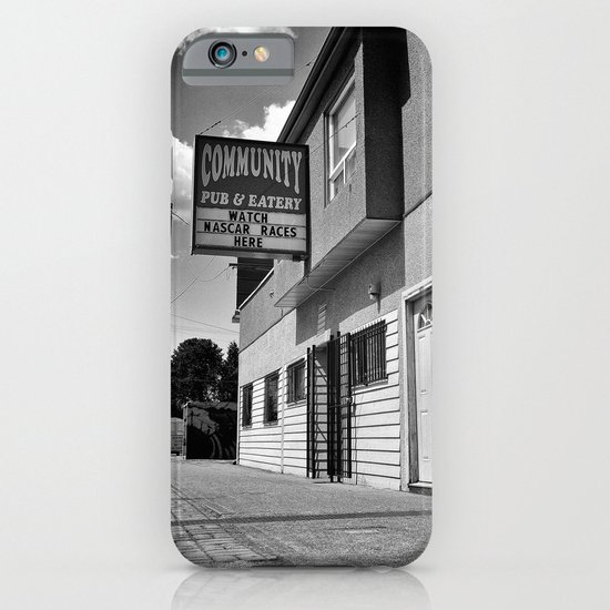 Community Pub & Eatery iPhone & iPod Case