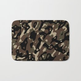 Camouflage Abstract Bath Mat