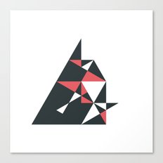 #177 Attack – Geometry Daily Canvas Print