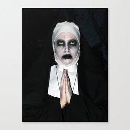 Valak Praying Canvas Print