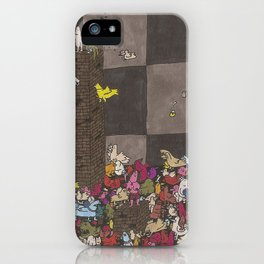 Chicken Pit iPhone Case