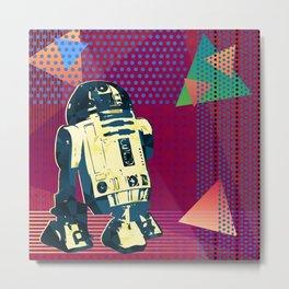 Pop Art R2D2 Metal Print