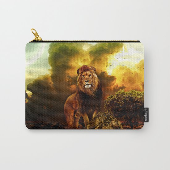 Lion V Carry-All Pouch